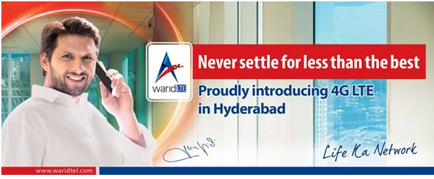 Warid Launches LTE Services in Hyderabad
